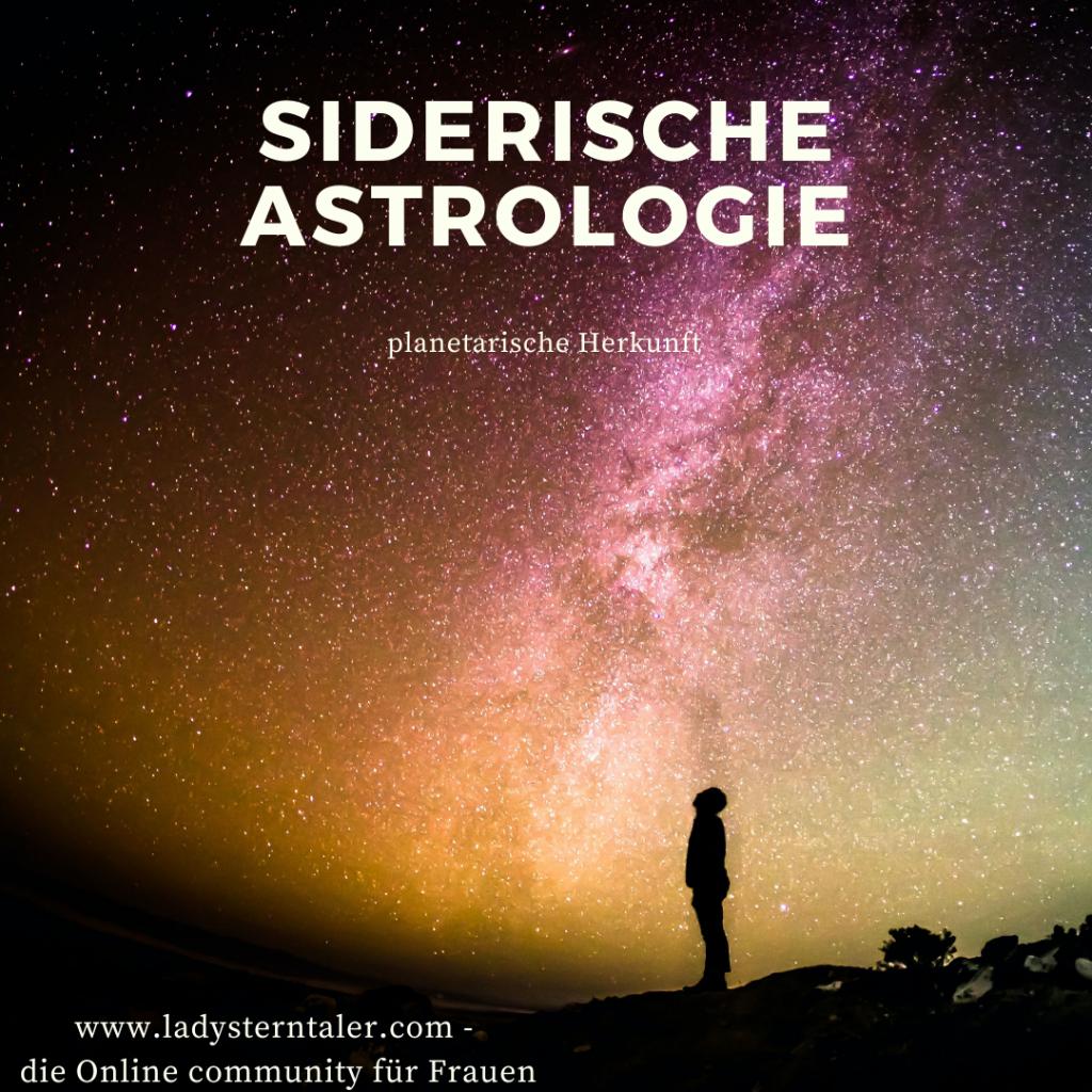 Siderische Astrologie - deine Planetarische Heimat