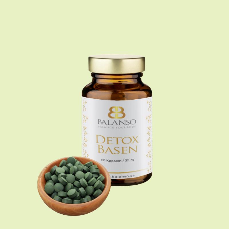 Algen für die Detoxkur