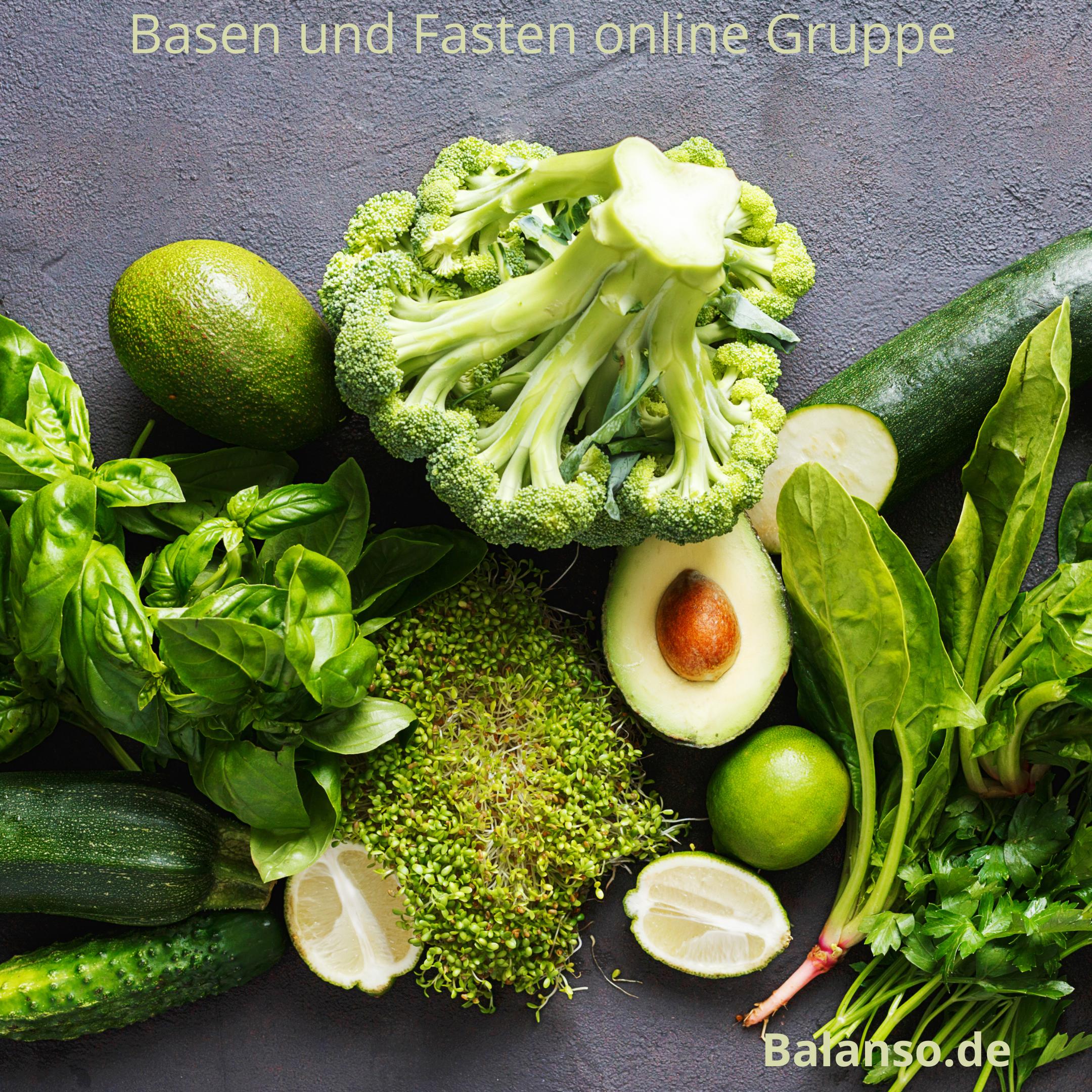 Basen und Fasten online Gruppe