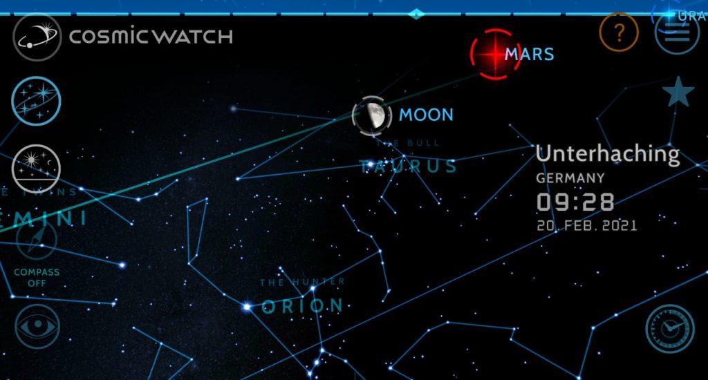 Mond im Stier Himmel